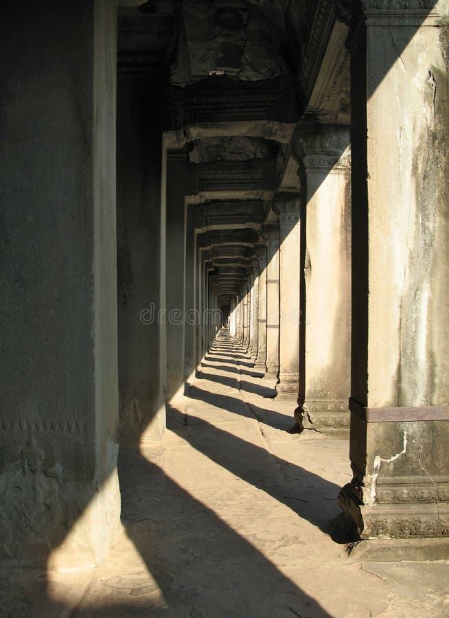 Oneindig album in Angkor Wat, Kambodja royalty-vrije stock foto