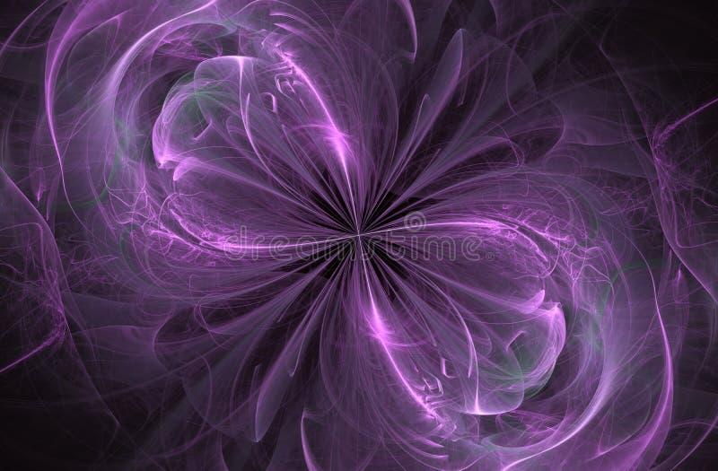 Oneindigheidsteken, computer geproduceerde fractal royalty-vrije illustratie