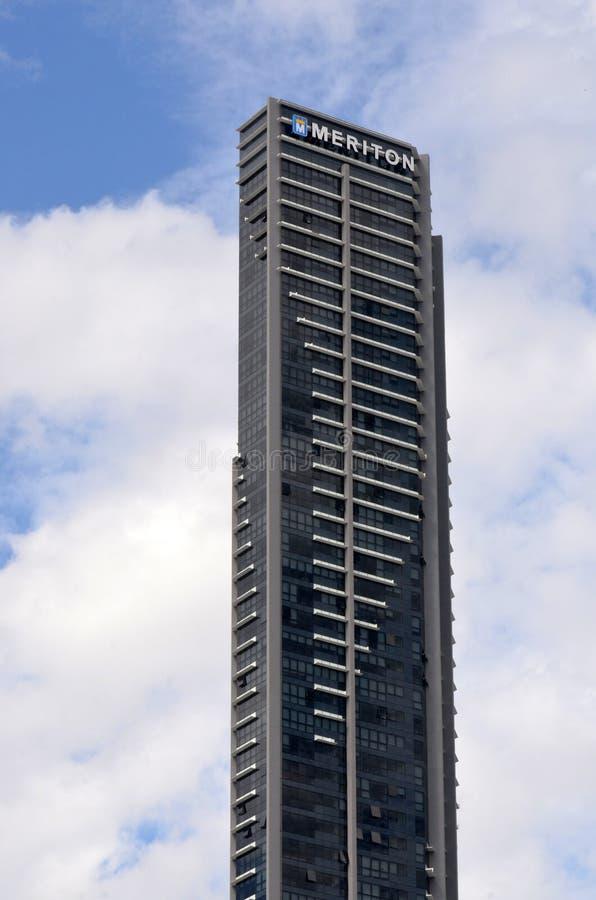 Oneindigheidstoren Brisbane Queensland Australië royalty-vrije stock foto's