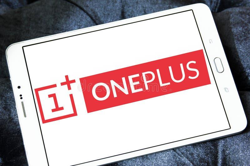 OnePlus智能手机制造商商标 免版税库存图片
