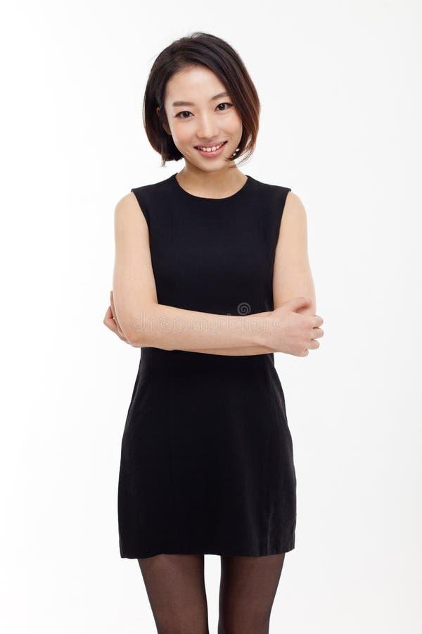 Ong相当亚裔女商人 图库摄影