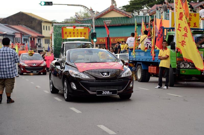 ONG θεοτήτων εορτασμού γενεθλίων choon kong teck στοκ φωτογραφίες