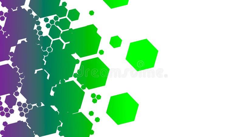 Ongebruikelijke abstractieachtergrond stock illustratie