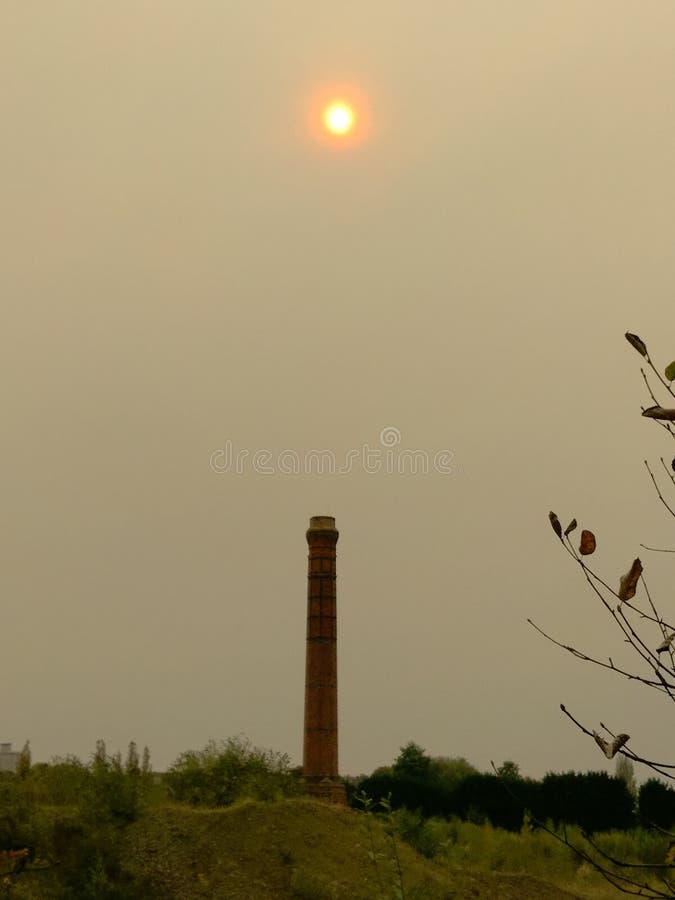 Ongebruikelijke zonneschijn stock afbeeldingen