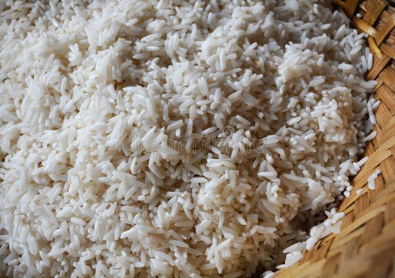 Ongekookte rijst royalty-vrije stock afbeeldingen