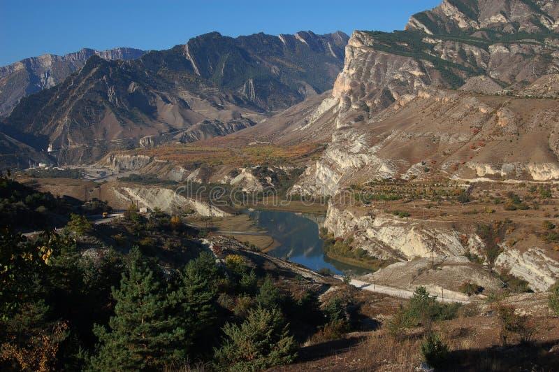 Ongelooflijke plaats in Dagestan royalty-vrije stock foto