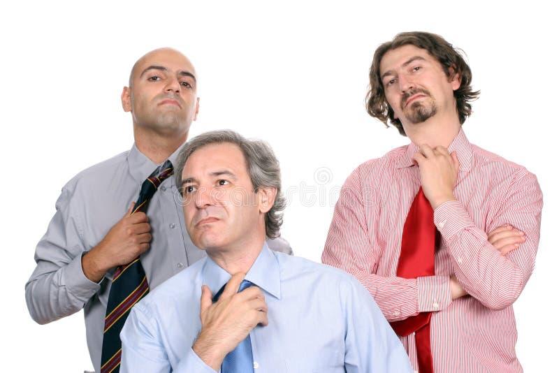Ongelukkig commercieel team stock afbeeldingen