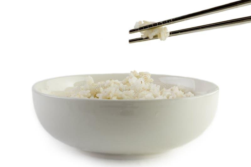 Ongepelde rijst royalty-vrije stock afbeeldingen