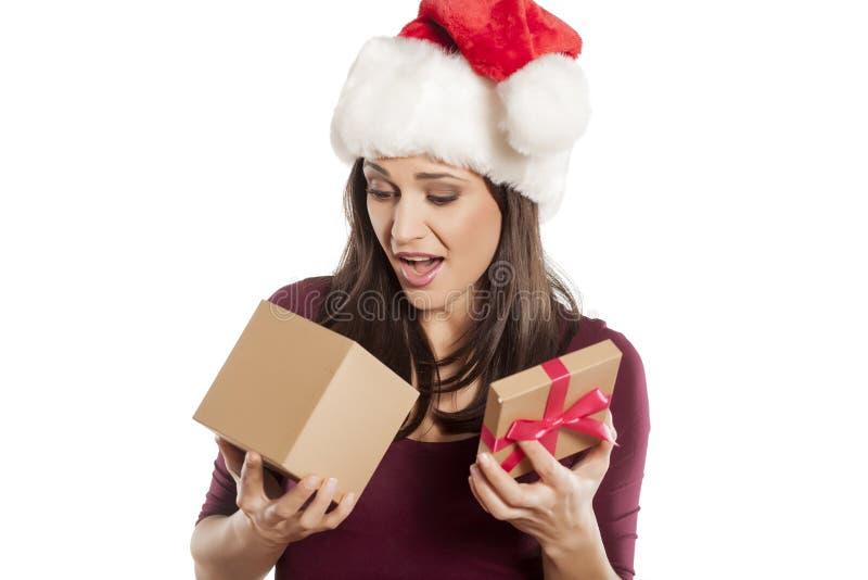 Ongewenste Kerstmisgift stock foto