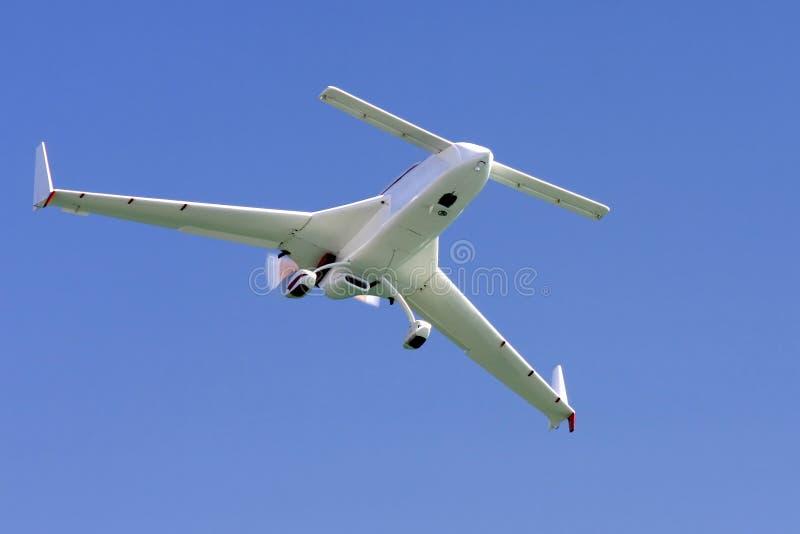 Ongewoon vliegtuig stock foto's