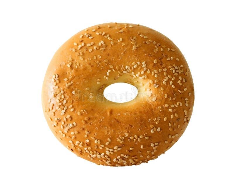 Ongezuurd broodje stock afbeelding