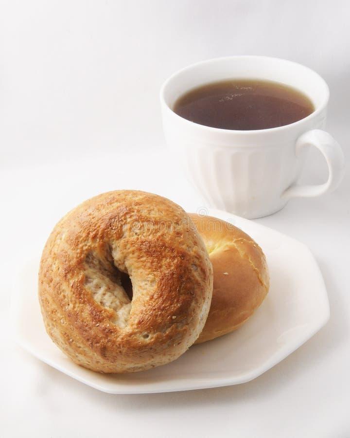 Ongezuurde broodjes in een Zak royalty-vrije stock fotografie
