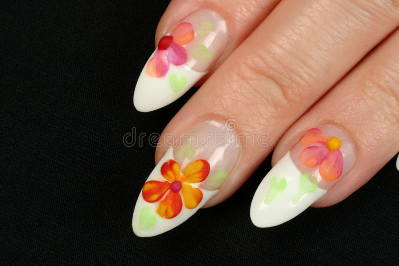 Ongles image stock