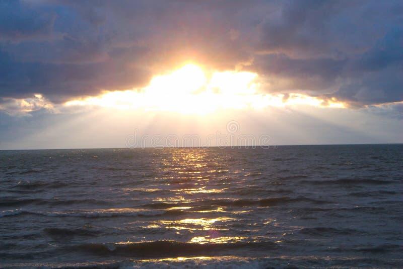 Onheilspellend Meer Michigan II royalty-vrije stock foto