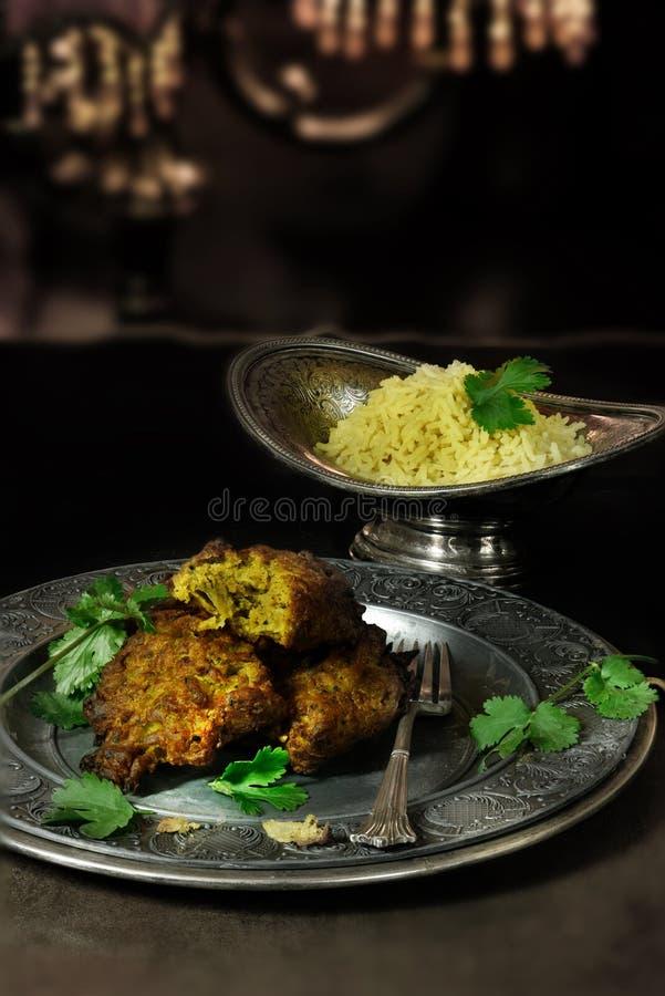 Onion Bhajis royalty free stock photo