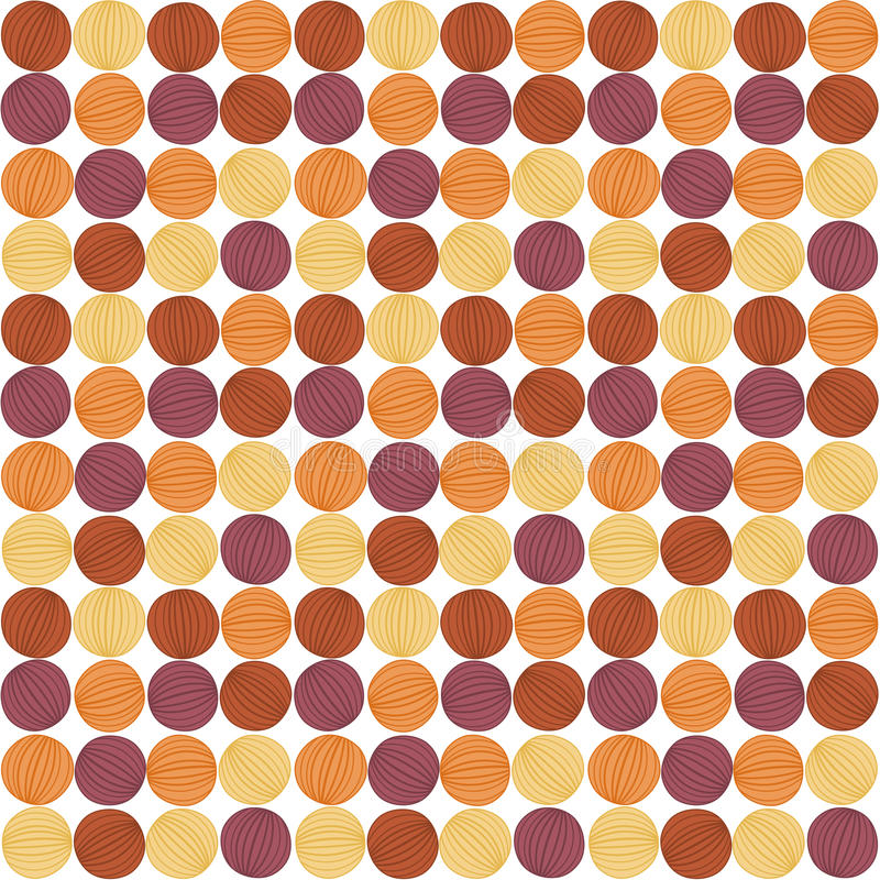 Onion Circles seamless pattern royalty free stock photos