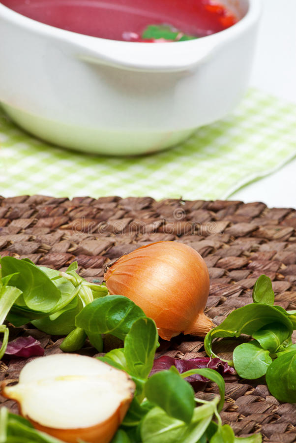 Download Onion And Fresh Herbs Stock Images - Image: 23235904