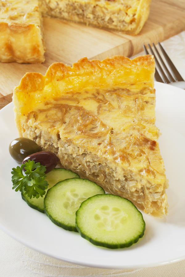Download Onion Quiche stock photo. Image of nobody, food, homemade - 25634574