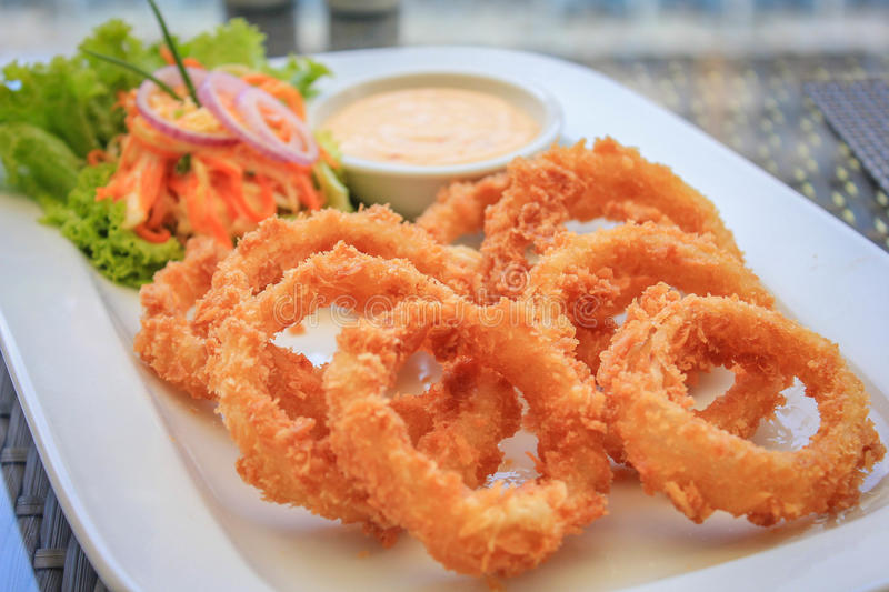 Onion Ring royalty free stock images