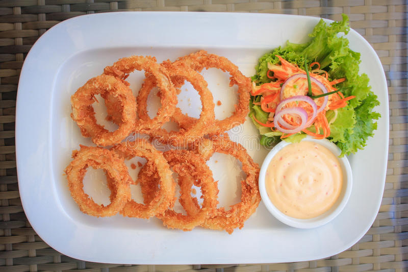 Onion Ring royalty free stock image