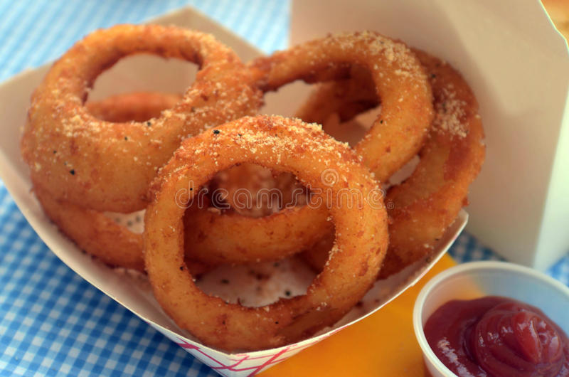 Download Onion rings stock image. Image of fast, greasy, food - 25804599