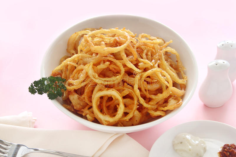 Onion Rings Royalty Free Stock Photography