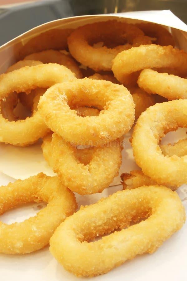 Onion Rings stock photo