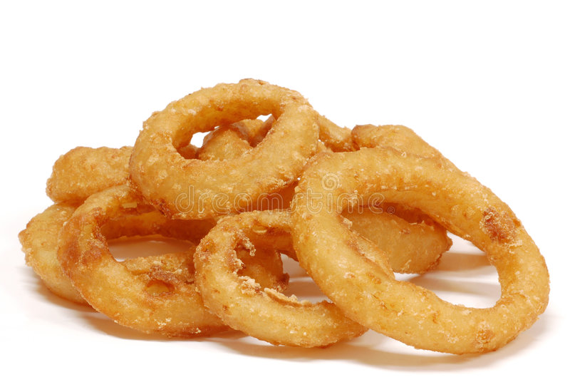 Onion Rings Stock Image