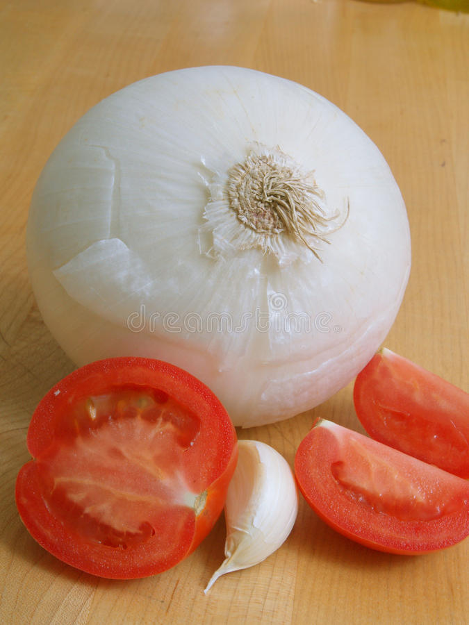 Onion and tomatoe
