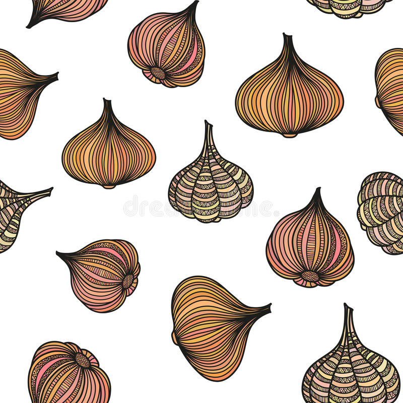Onions and garlic stock images