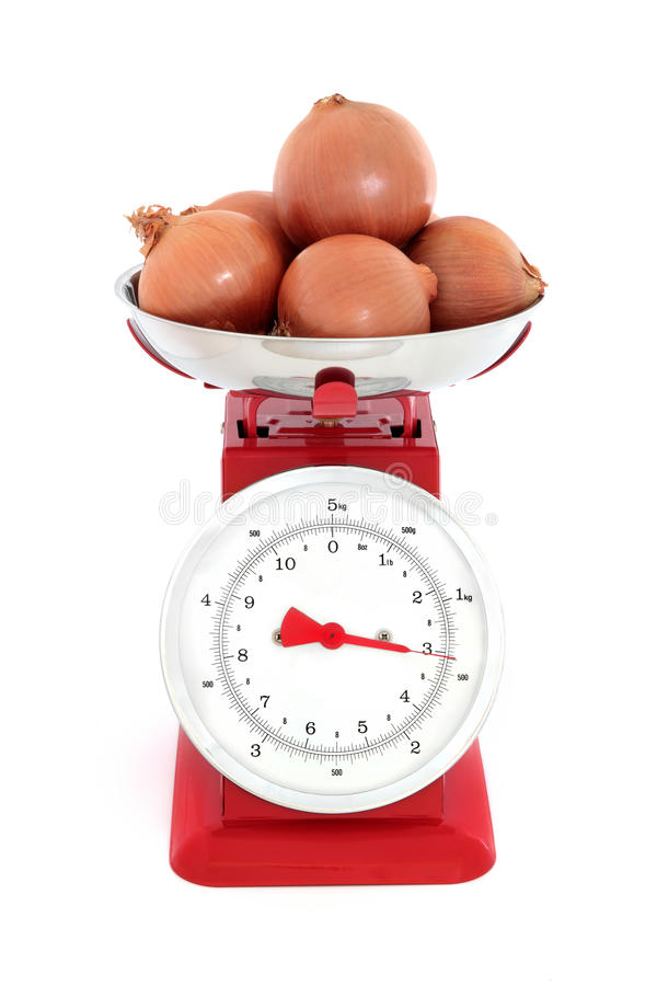 Download Onions on Scales stock photo. Image of scales, onions - 23434270