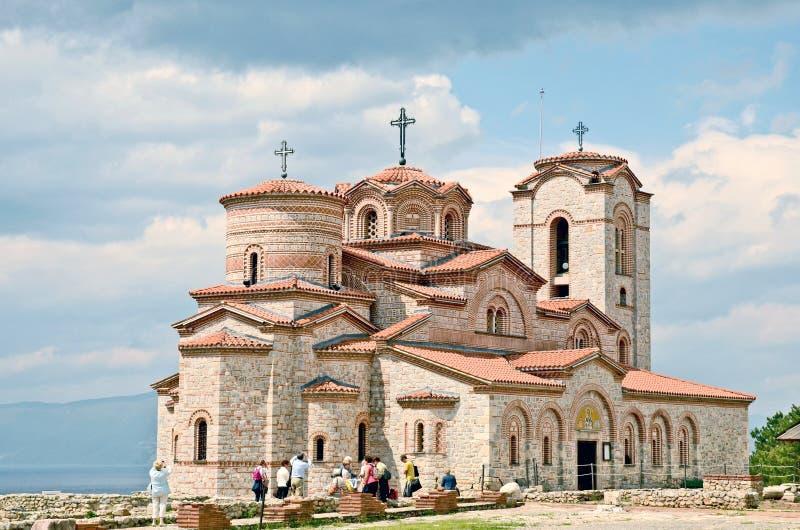 Onlangs gebouwde St Clements Church stock afbeelding