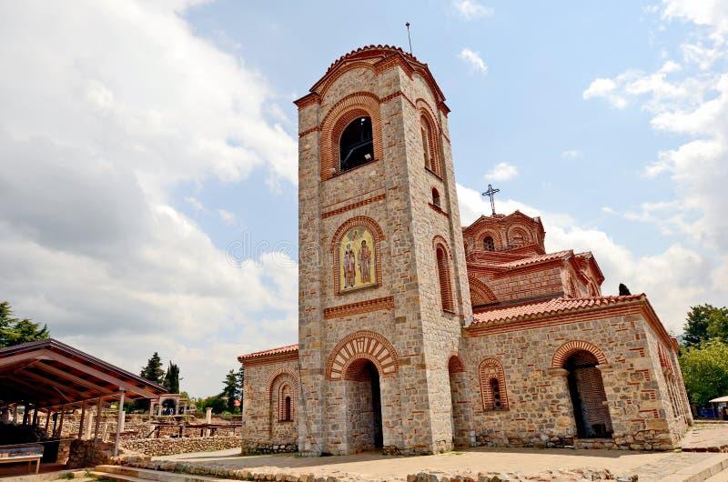 Onlangs gebouwde St Clements Church stock foto