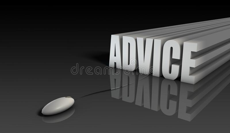 Download Online Advice stock illustration. Image of consult, advise - 14216845