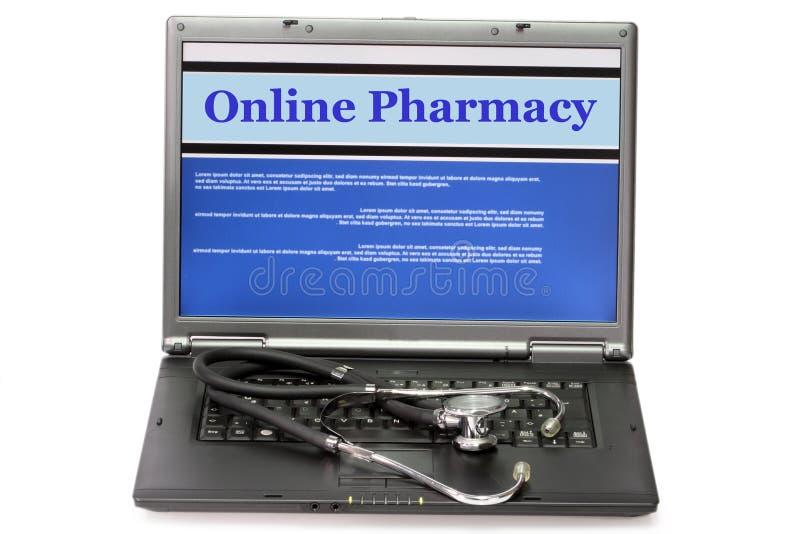 online-apotek arkivbilder