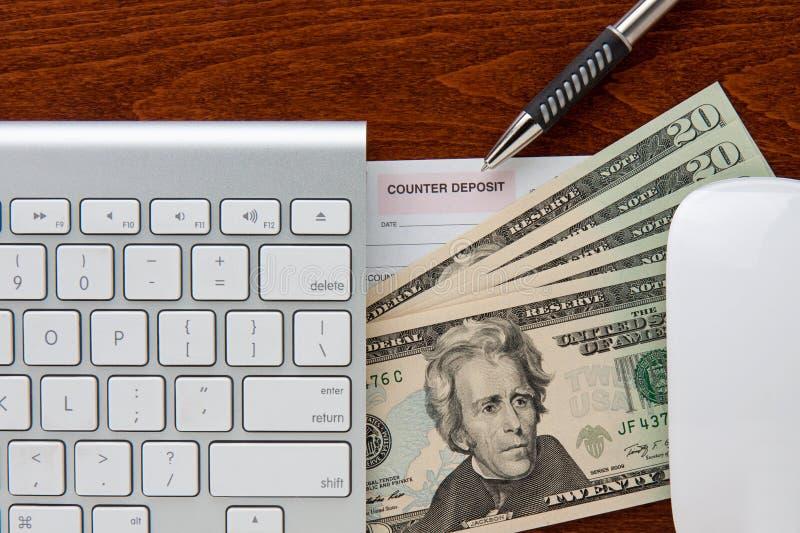 Online-Banking lizenzfreies stockbild