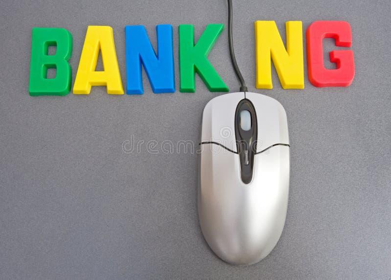 Online Bankkonto haben Bankkonto haben: technischer Fortschritt. stockbild