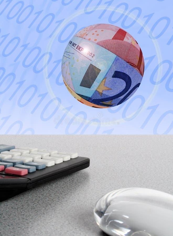 Online bankwezen stock illustratie