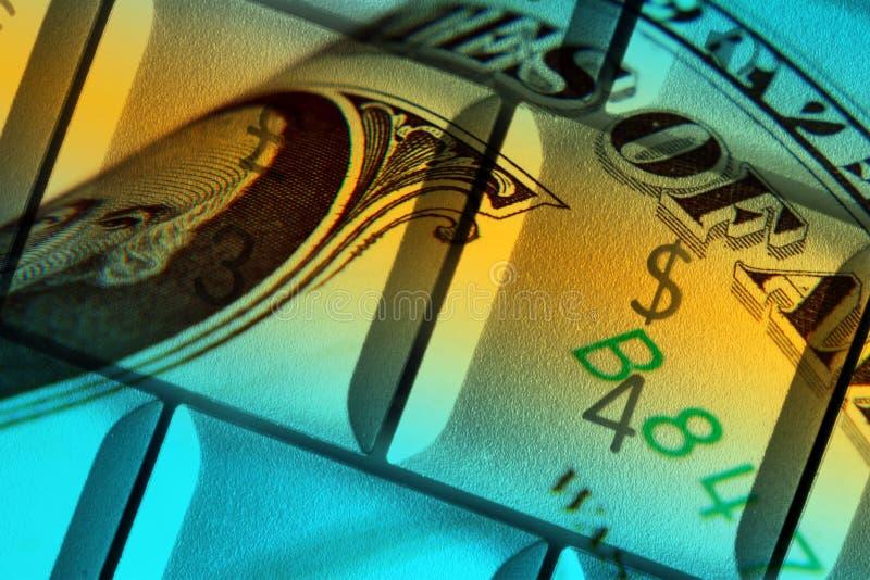 Online bankwezen stock fotografie
