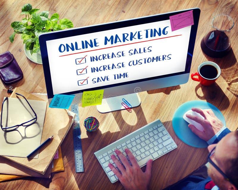 Online-begrepp för strategi för marknadsföringssyfteplan fotografering för bildbyråer
