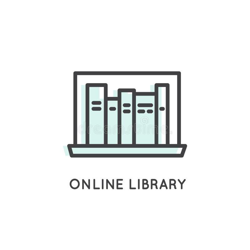 Online biblioteka, magazyn, Epub, Txt, książka, Elektroniczny czytelnik ilustracji