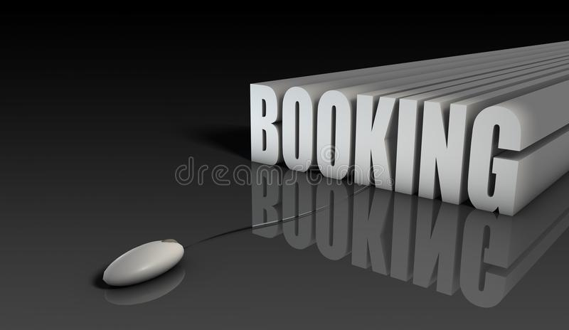 Download Online Booking stock illustration. Image of system, digital - 14735567