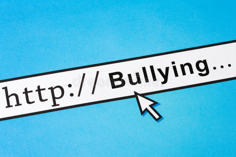 Online Bullying Royalty Free Stock Photo
