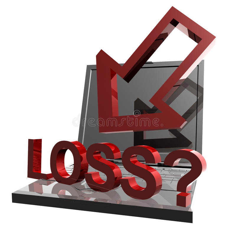 Download Online Business Loss And Failure Icon Stock Illustration - Image: 14078509