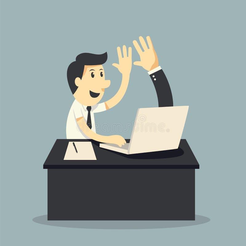 Online Business royalty free illustration