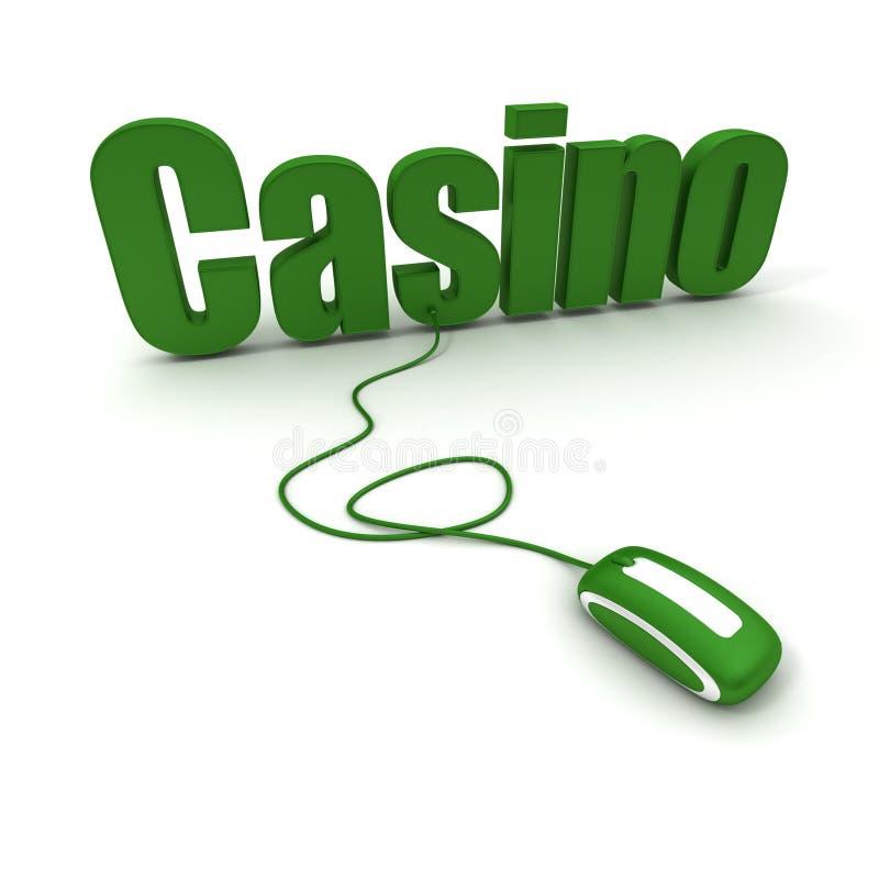 Online casino stock illustratie