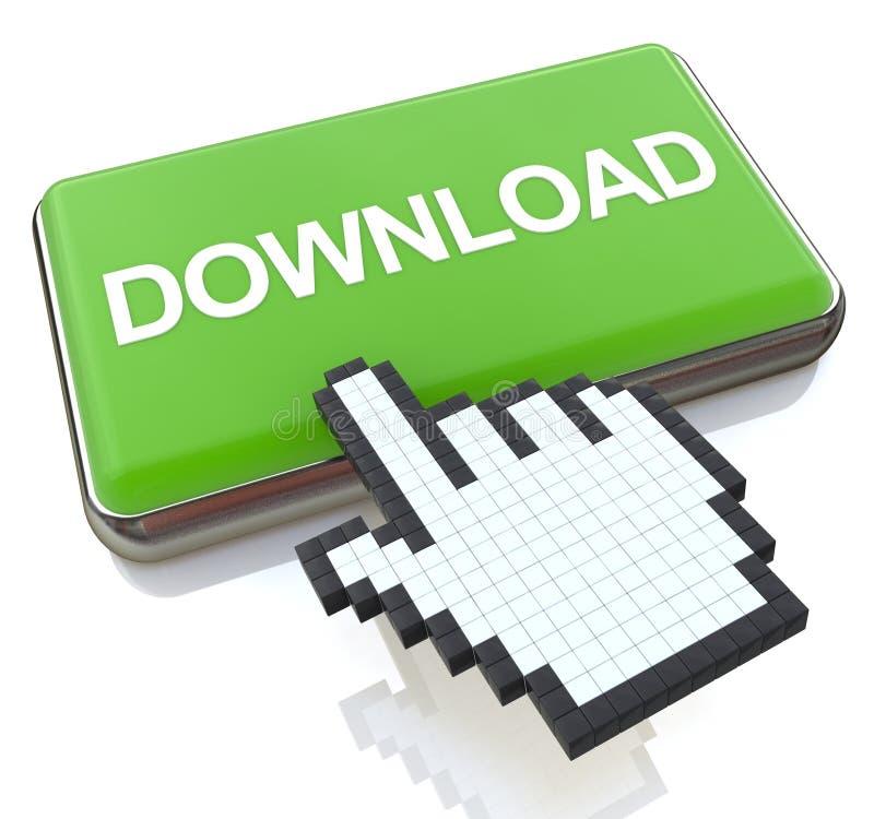 Online Download stock illustratie