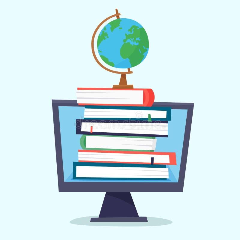 Online edukacja i elektroniczna biblioteka ilustracji