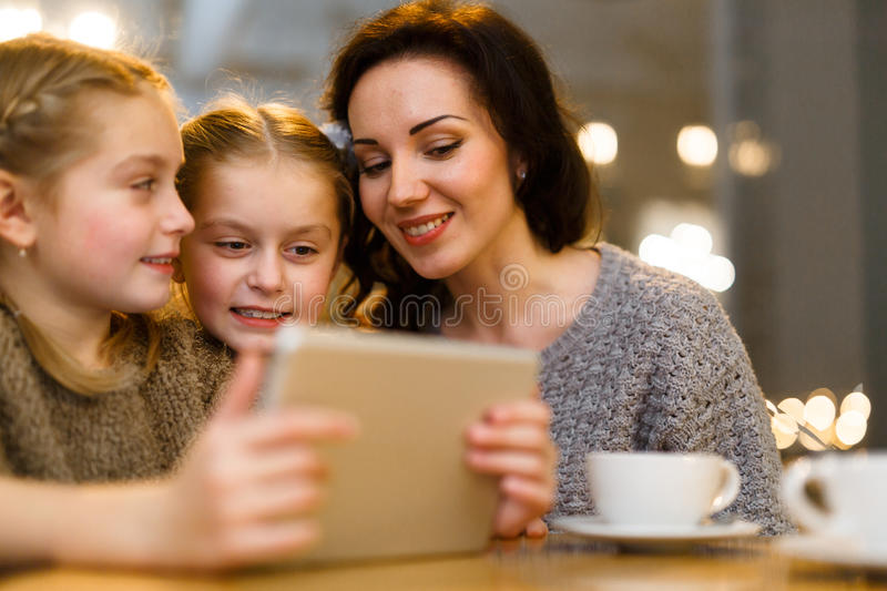 Online entertainment royalty free stock image