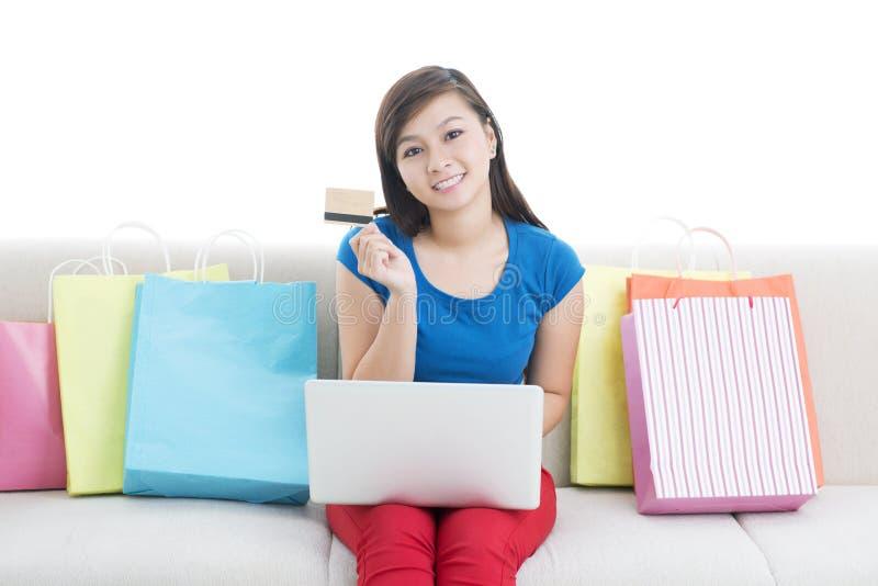 Online-försäljning arkivbilder